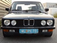 BMW 535i Kat Automat E28M30 Schiebedach Rostfrei 1Lack ALU Tempomat Sportsitze Sammlerzustand Rarität sehr selten bei  HWS || Auto Pilz Erich in Marchtrenk, Wels, Linz